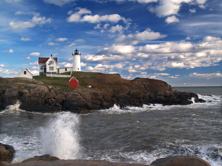Nubble Point Light House