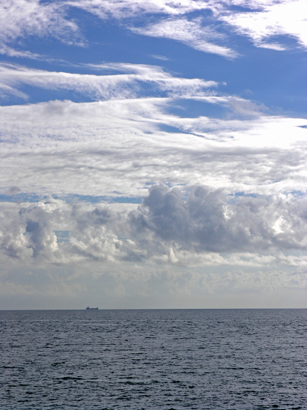 Clouds and Ship with Levels