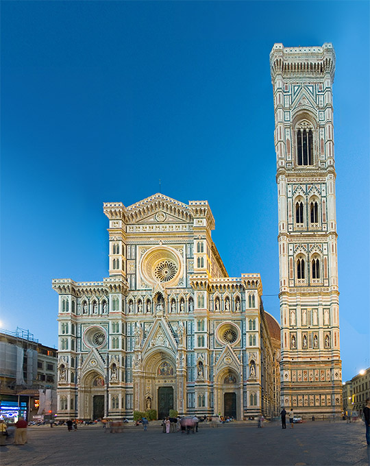 Florence cathedral full view