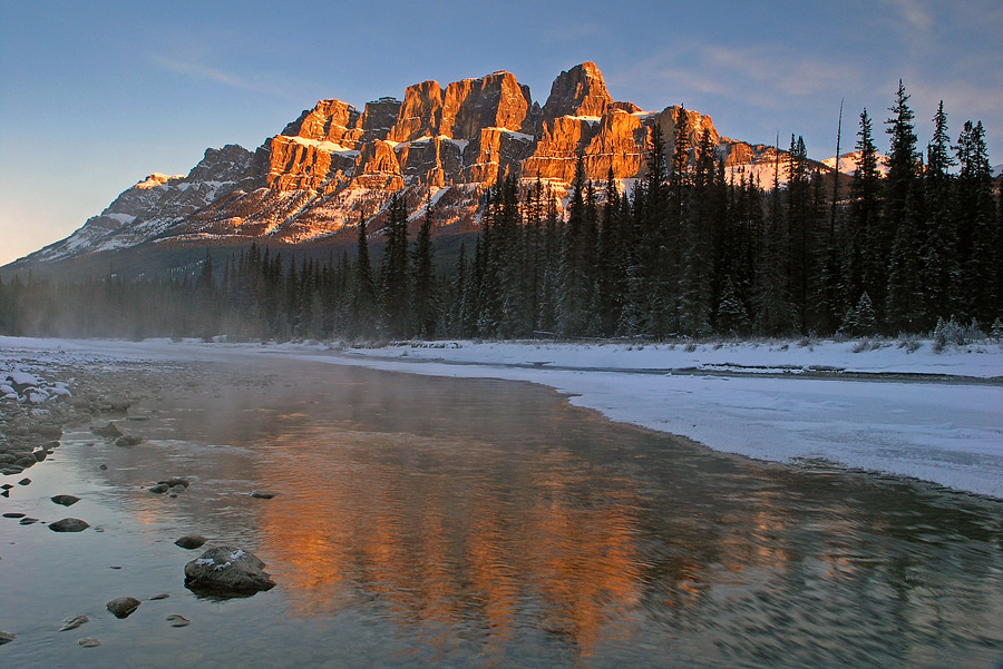 Castle Mountain Sunrise