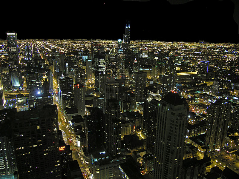 Chicago from the Hancock Observatory