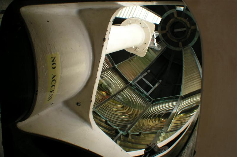 View of light chamber (of lighthouse)