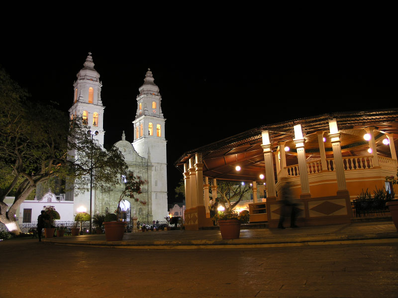 Evening in Campeche
