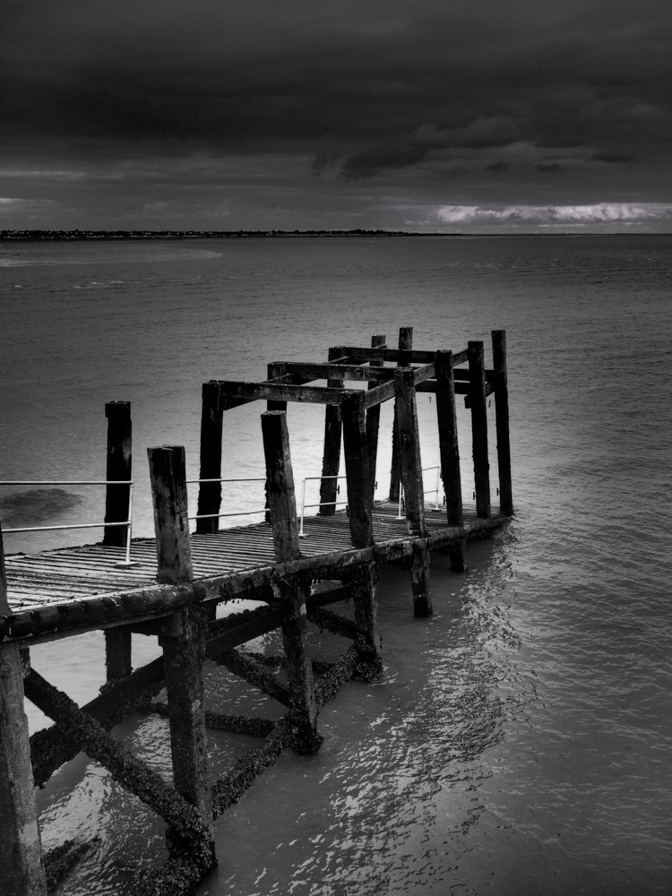 Pier remains, Southend on Sea.