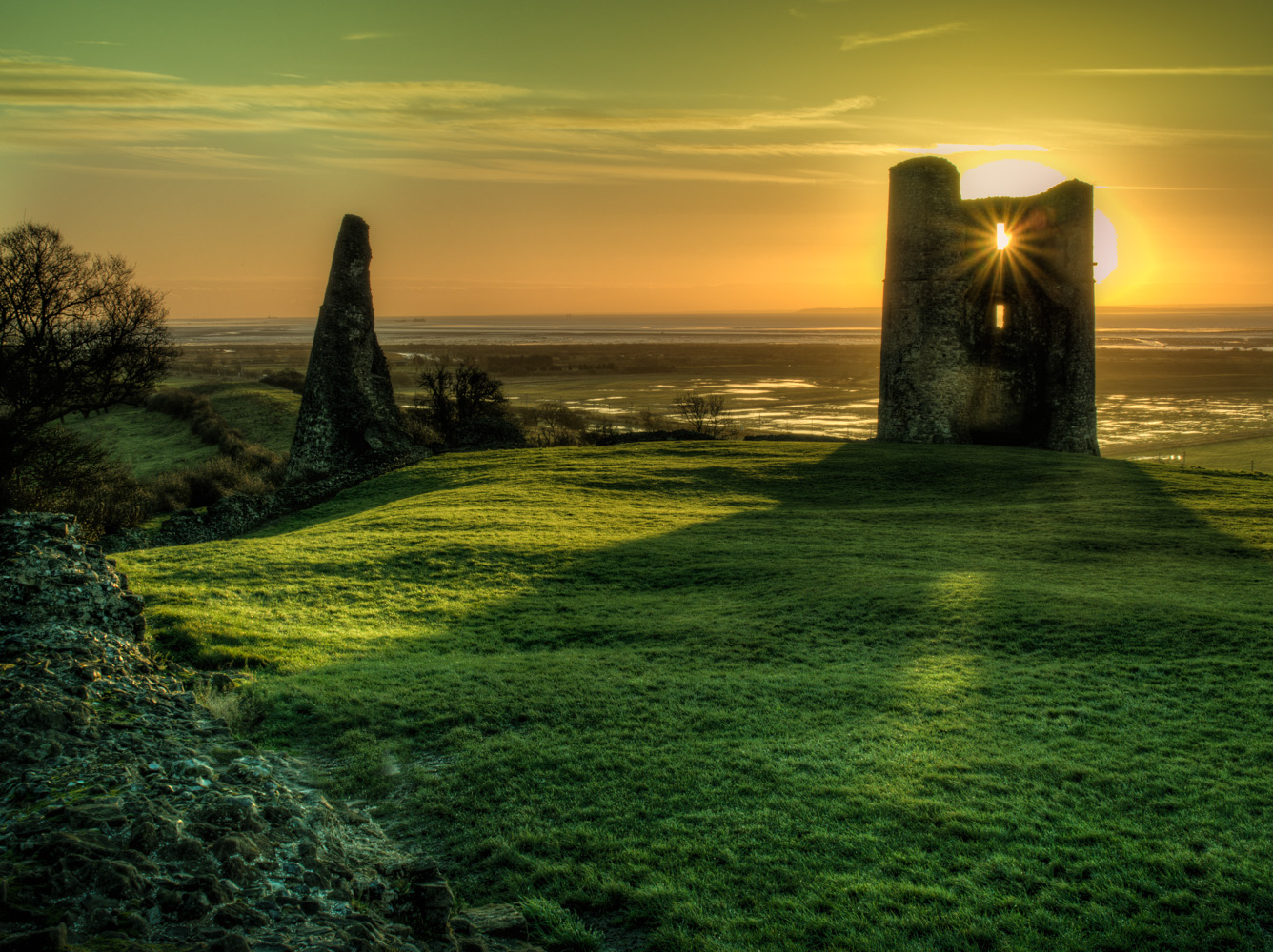 Hadleigh castle at dawn 2