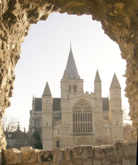 Rochester Cathedral.
