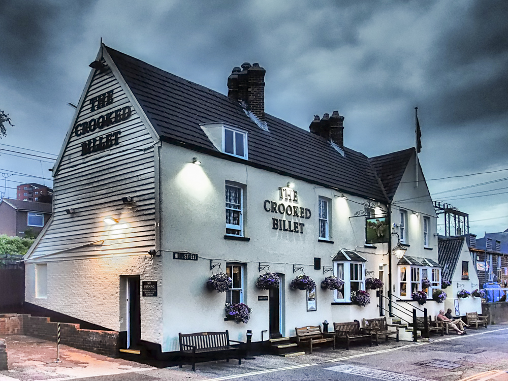 The Crooked Billet, Leigh on Sea, Essex.