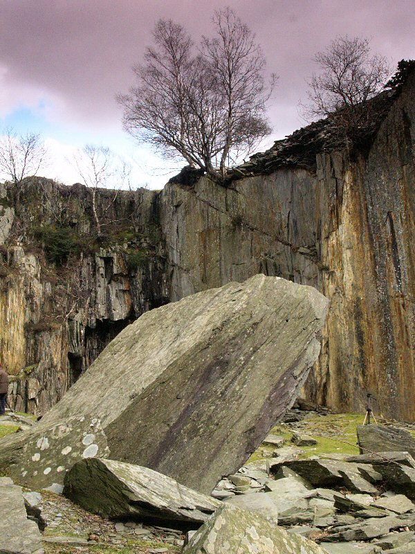 Disused Quarry, Lake District, UK.
