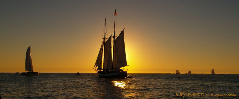 Sunset & Sails