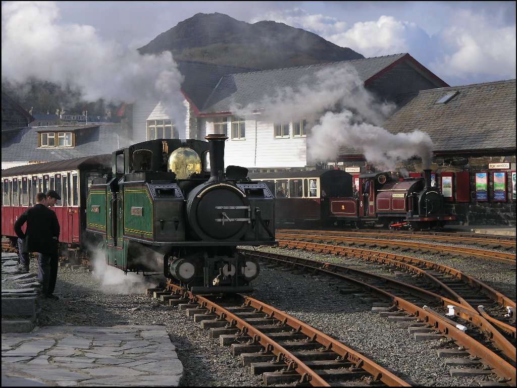 Festiniog Railway North Wales