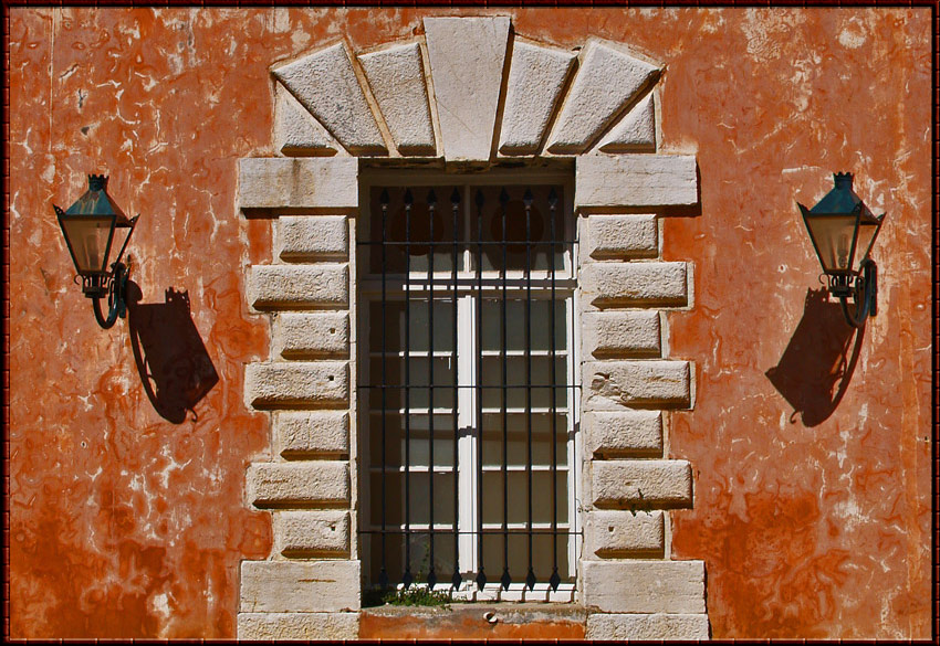 Window at Corfu Greece ( revised)