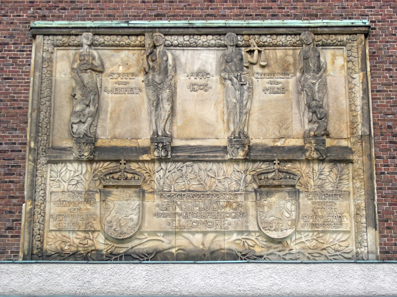 Relief of the Hochzeitsturm (wedding tower)
