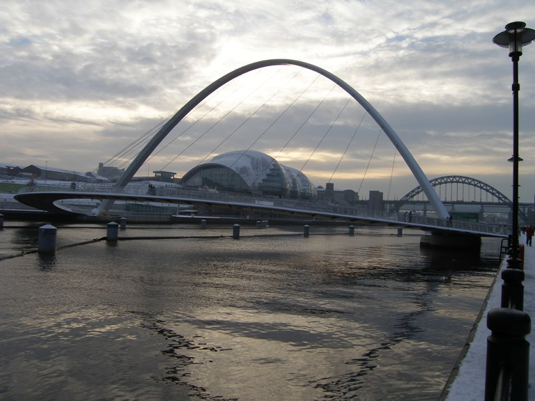 The Curves of Newcastle upon Tyne