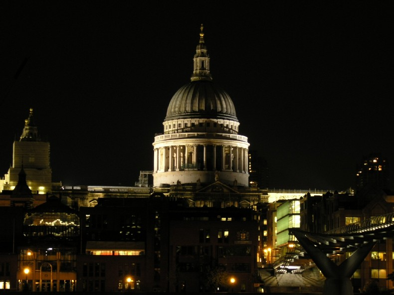 St. Paul's from Tate
