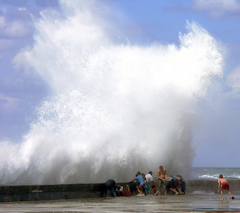 The Malecon Havana after wilma