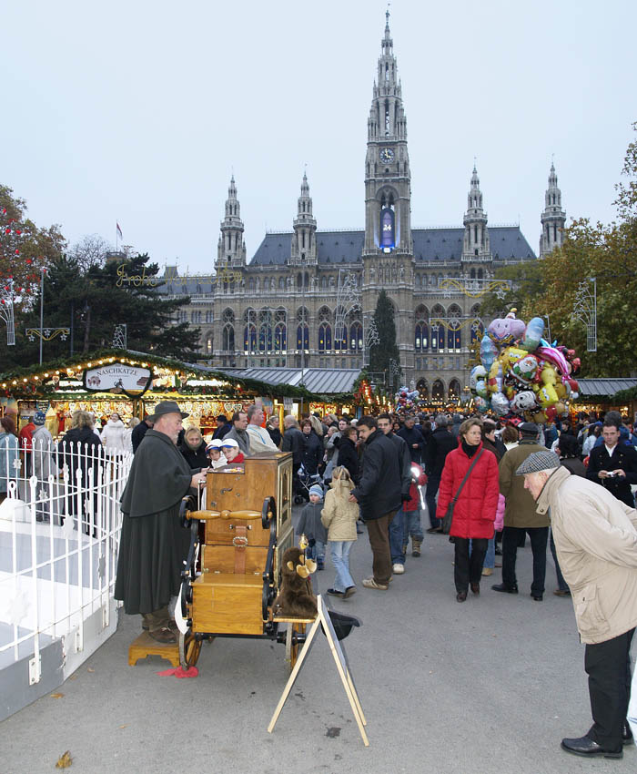 Early X-mas Market In Vienna