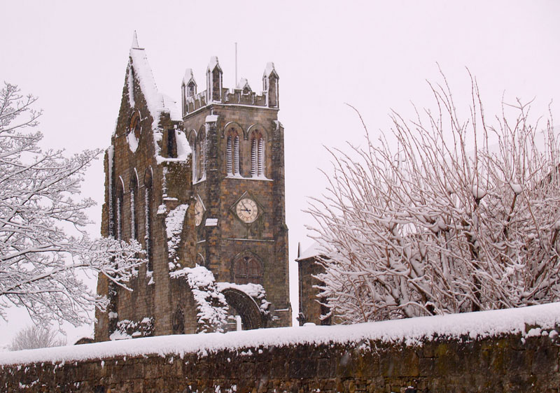 Snow on the Abbey