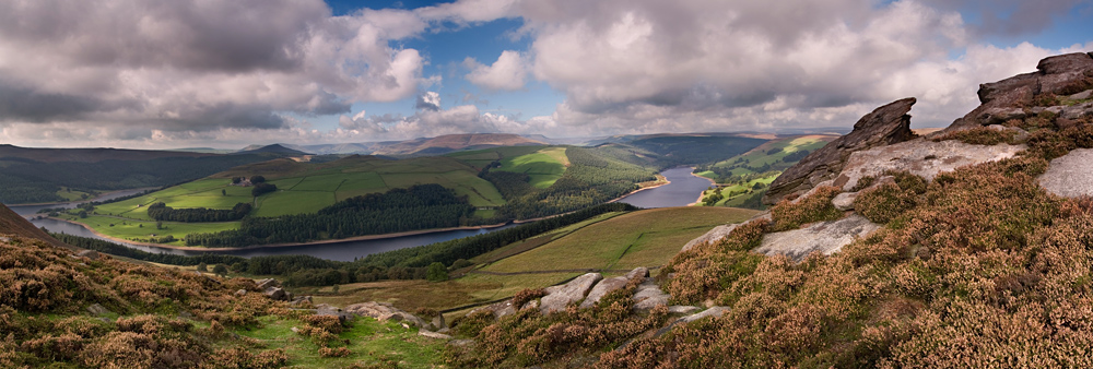 Ladybower from Whinstone Lee
