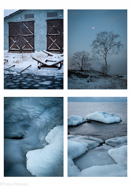 Four Views of Suomenlinna