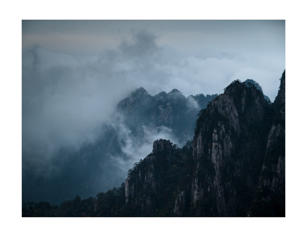 Clouds of Huangshan