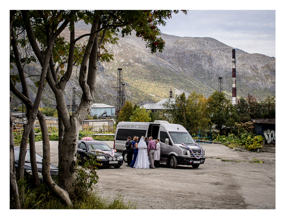 Wedding in a Russian Mining Town