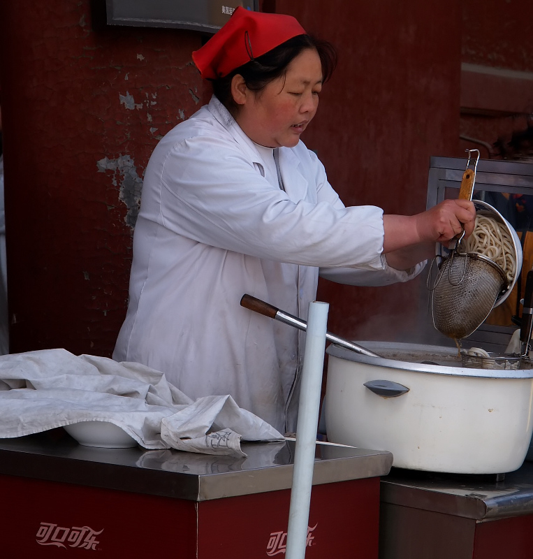 Street cookin in China