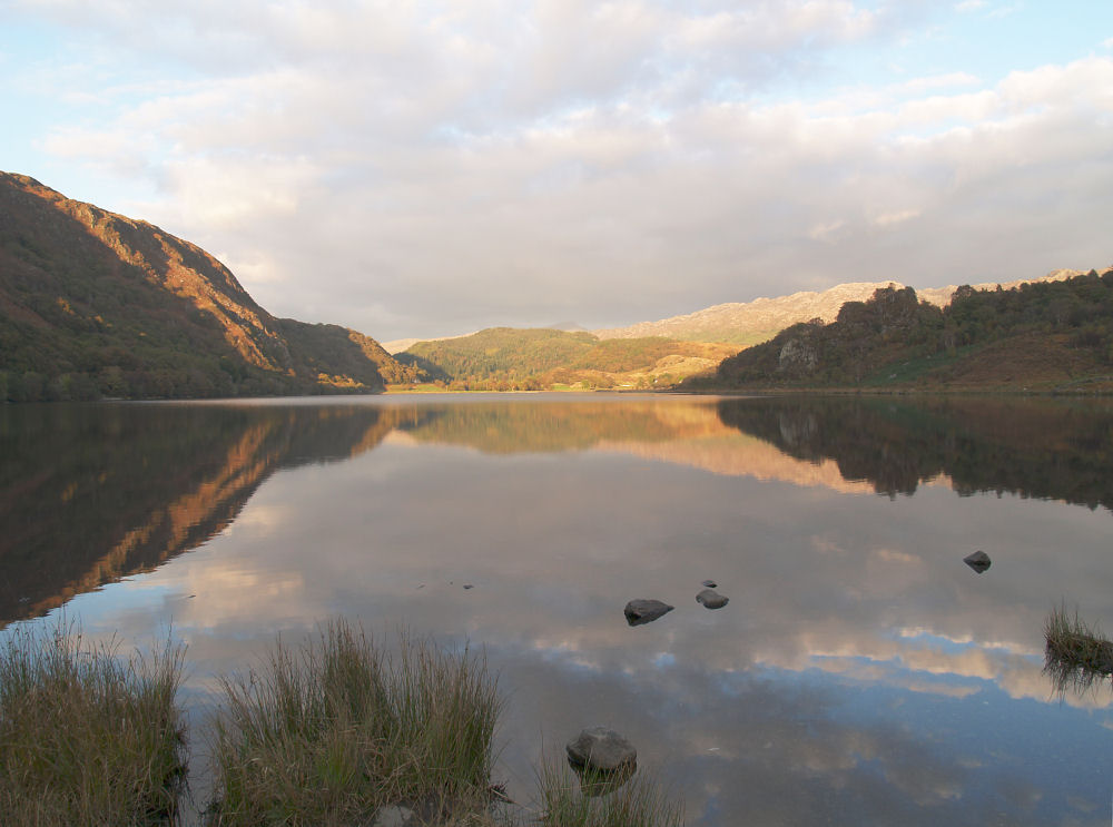Quiet Evening on Llyn Dinas