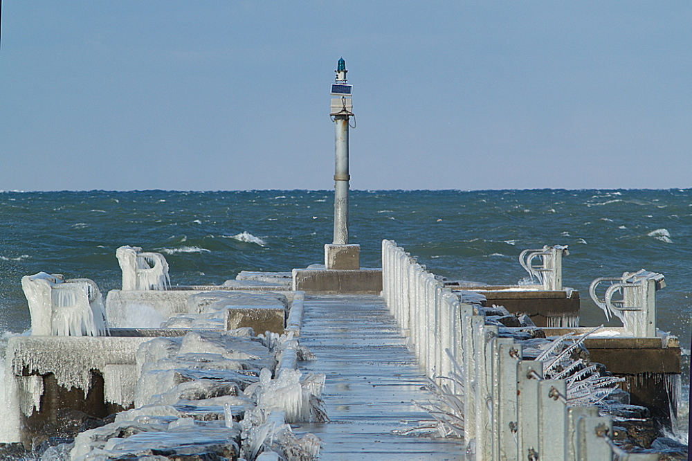 Lake Ontario Webster Pier