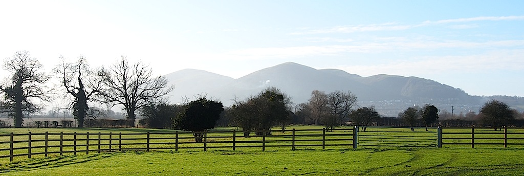 Malvern Through Haze