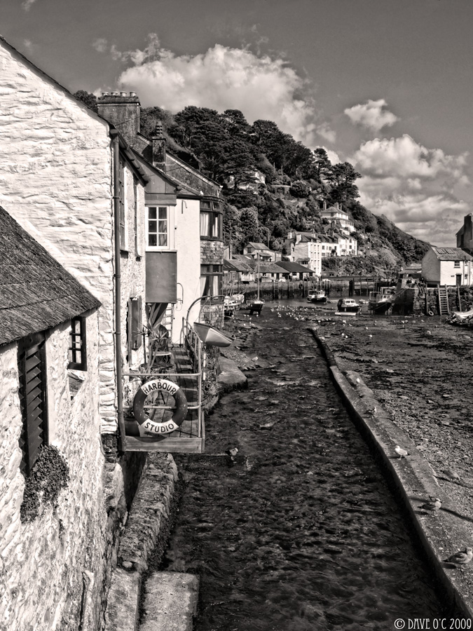View Through Polperro