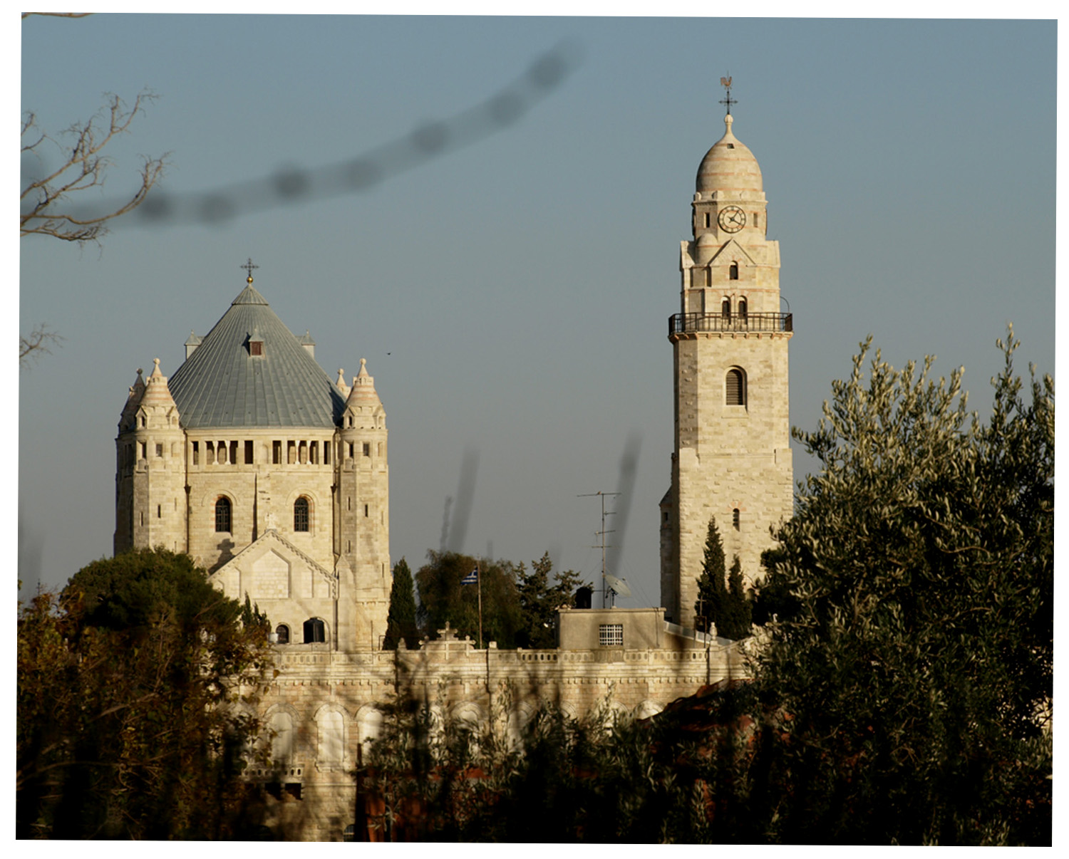 the Dormision church in Jerusalem