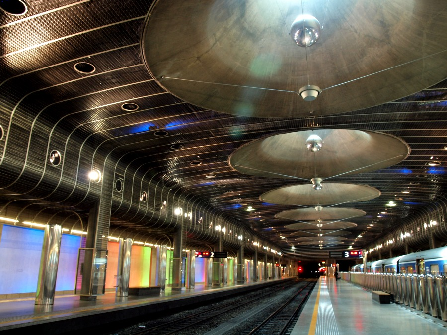 Britomart station in central Auckland