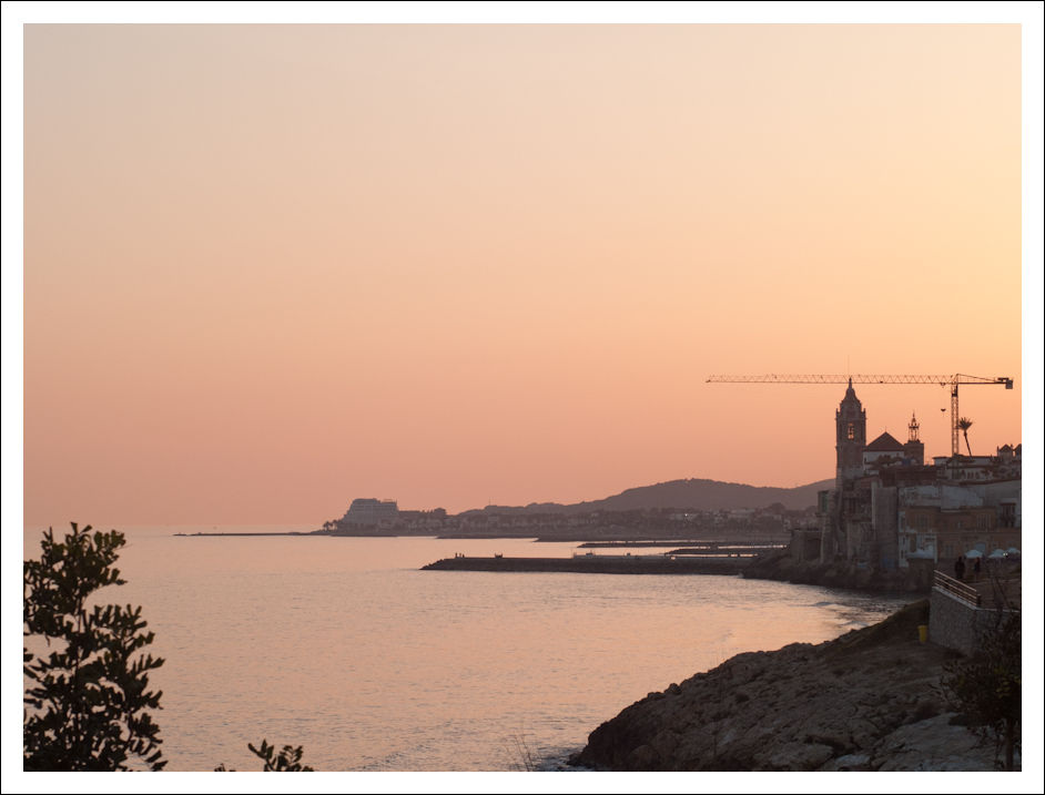 Sunset at Sitges