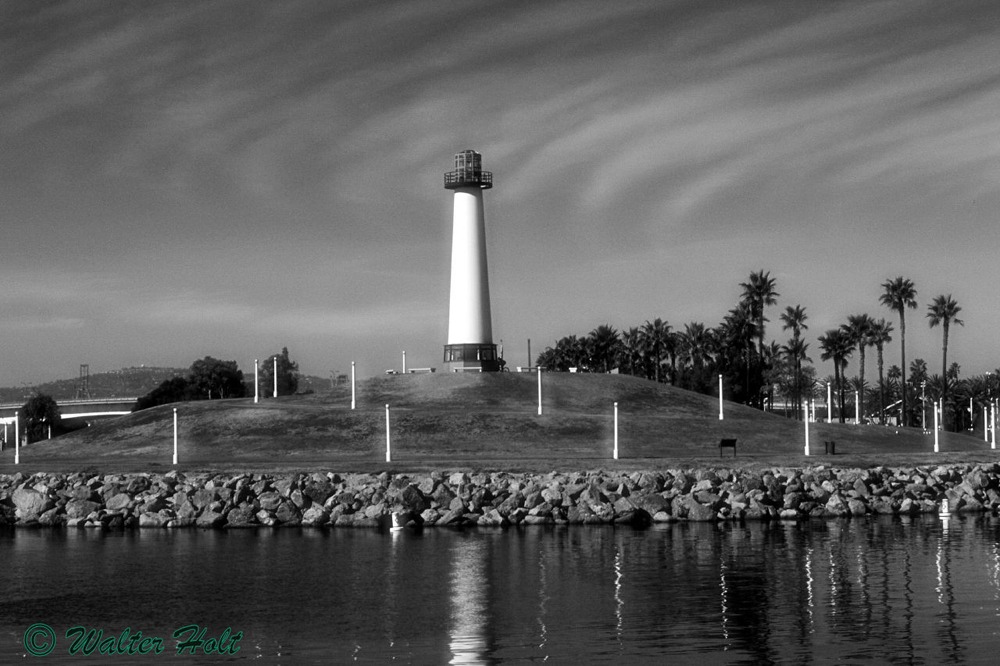 Long Beach Harbor, Ca Lighthouse
