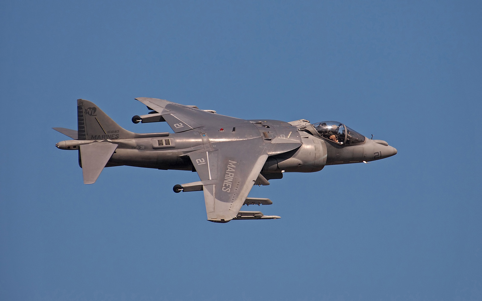 Harrier at EAA AirVenture 2011
