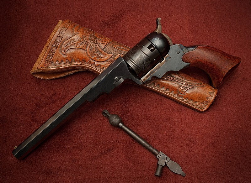 A reproduction of a Colt Paterson Belt or Texas model of 1836