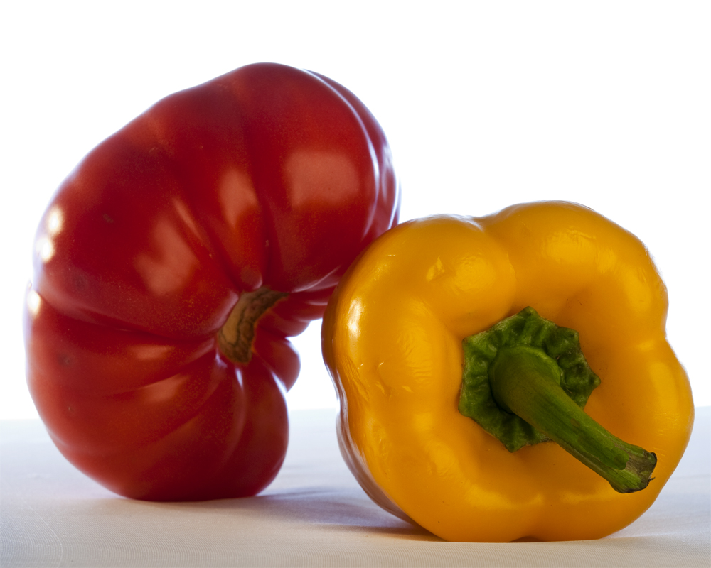 Tomato and Pepper