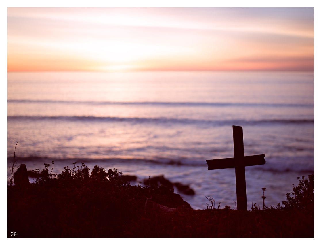 The cross and the Pacific